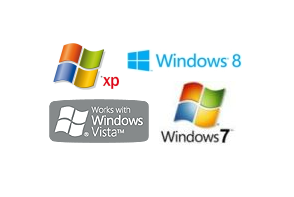 Progettato per Windows XP, Vista, 7, 10